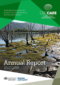 CRC CARE 2017/18 Annual Report cover
